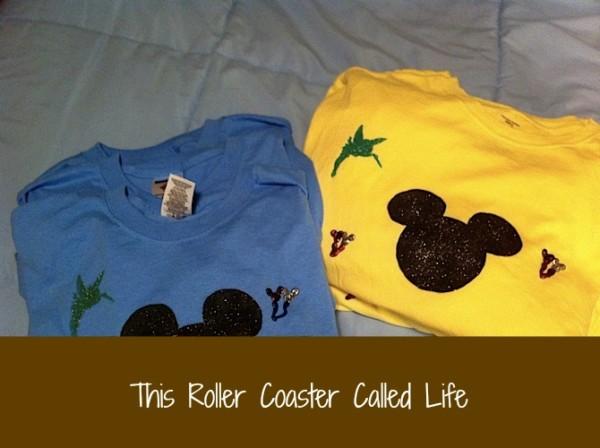 Homemade #Disney Vacation T-shirts