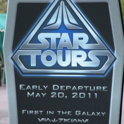 Disneyland Star Tours Preview Event