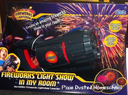 Uncle Milton Fireworks Light Show In My Room