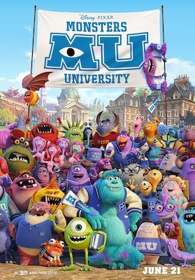 New Monsters University Trailer