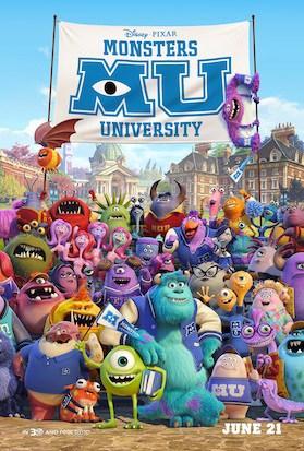 New Monsters University Trailer