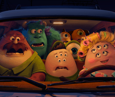 Happy Mother's Day from Monsters University!