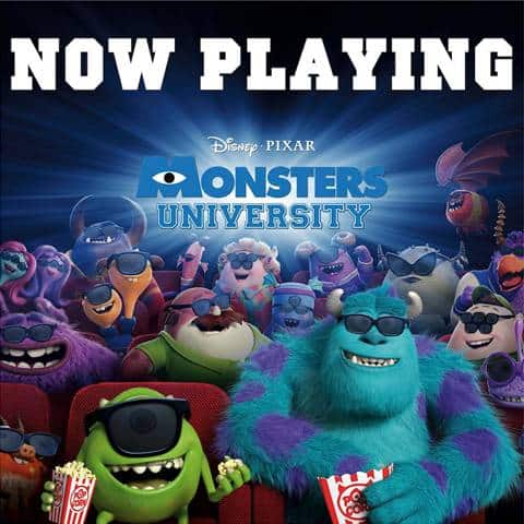 Did You See #MonstersU This Weekend?