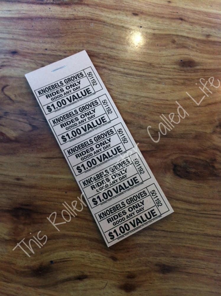 $20 Knoebels Ticket Book