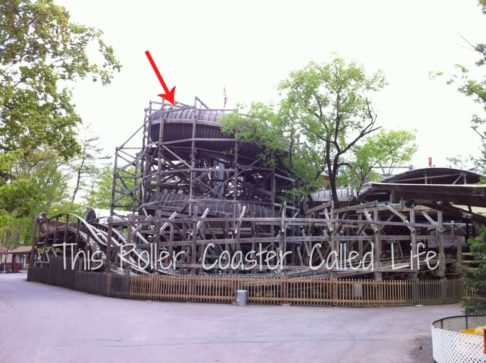 Flying Turns at Knoebels