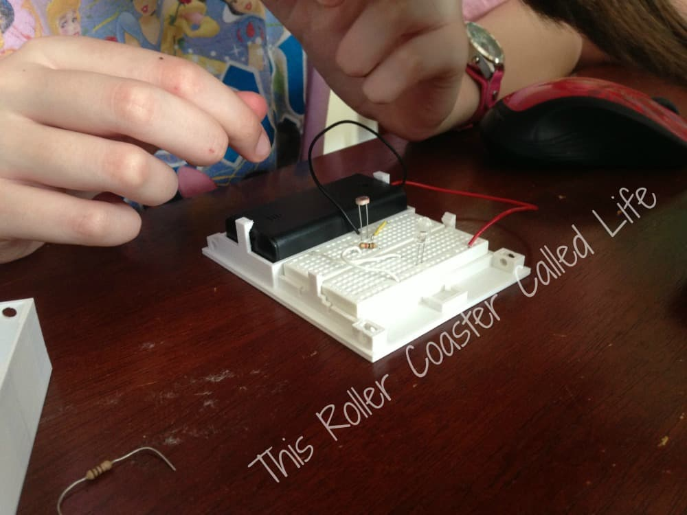 Seeing How Adding Resistors Changes the Light Intensity