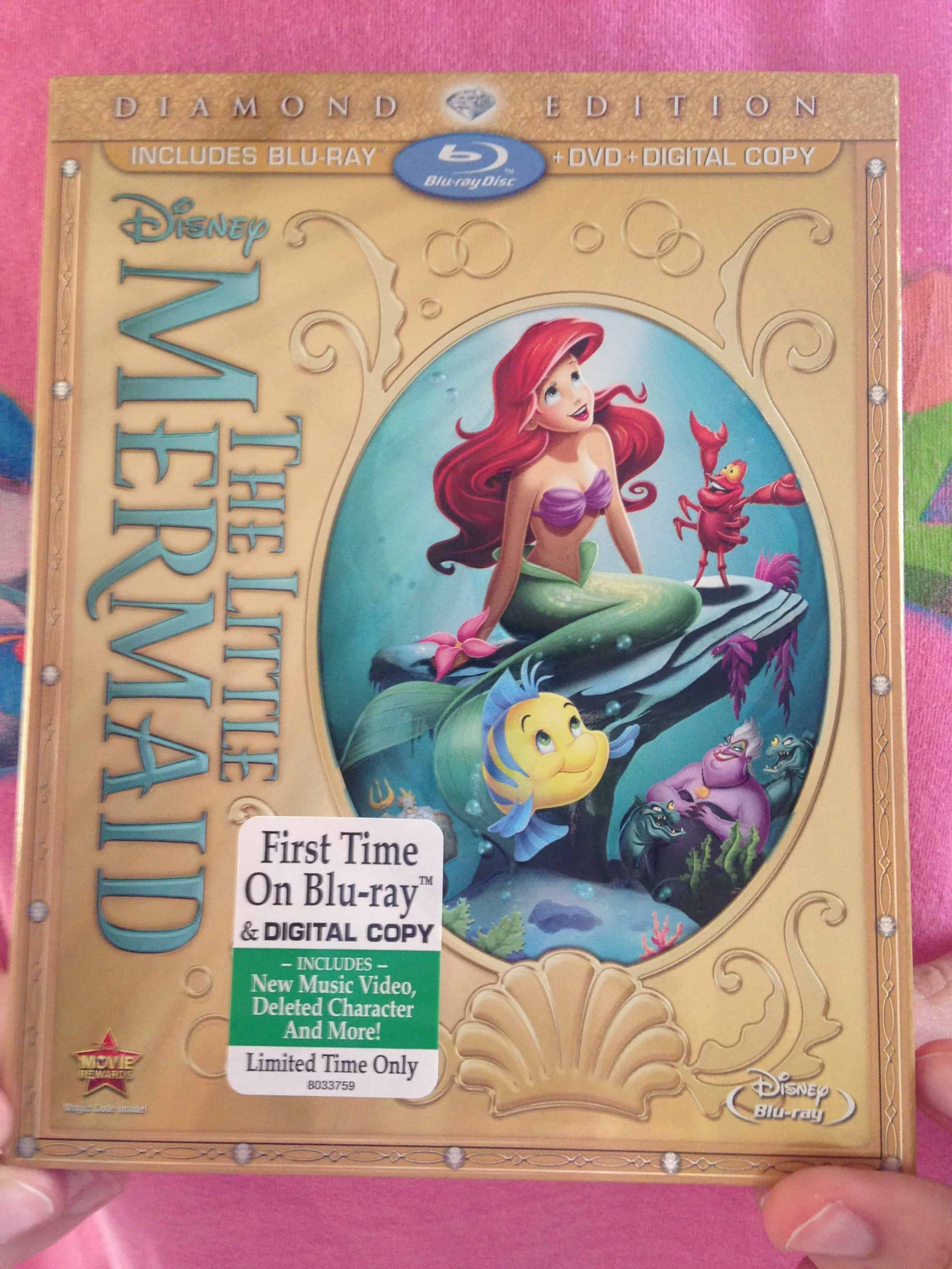 Coupon for little mermaid blu ray