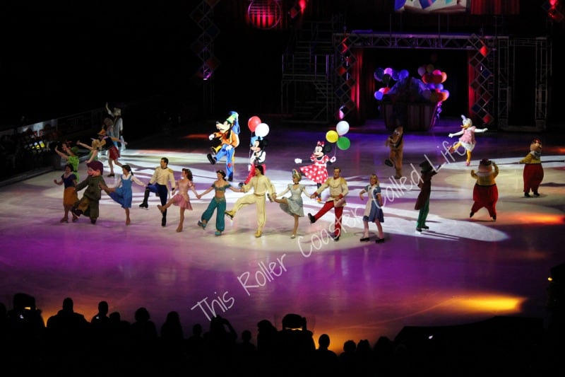 Our Night at Disney On Ice – Let's Celebrate!