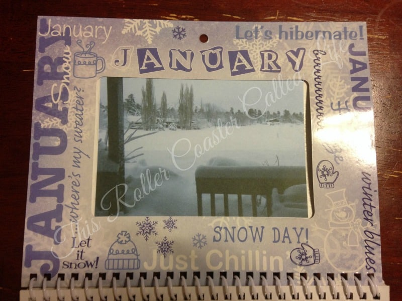 Calendar with Picture