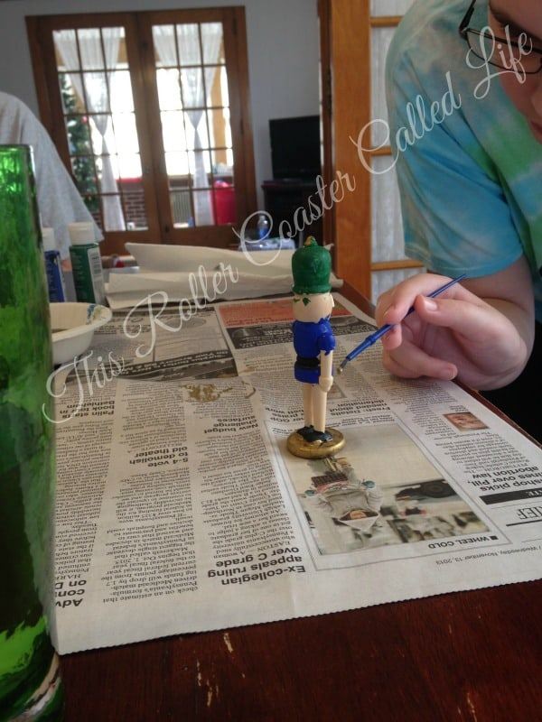 Painting Nutcrackers