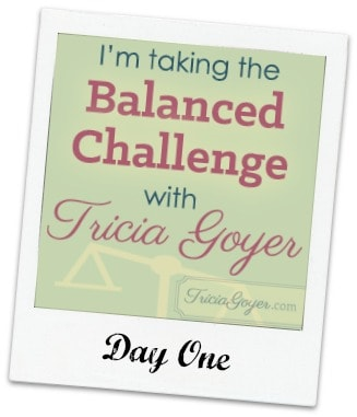 Balanced Challenge Day One