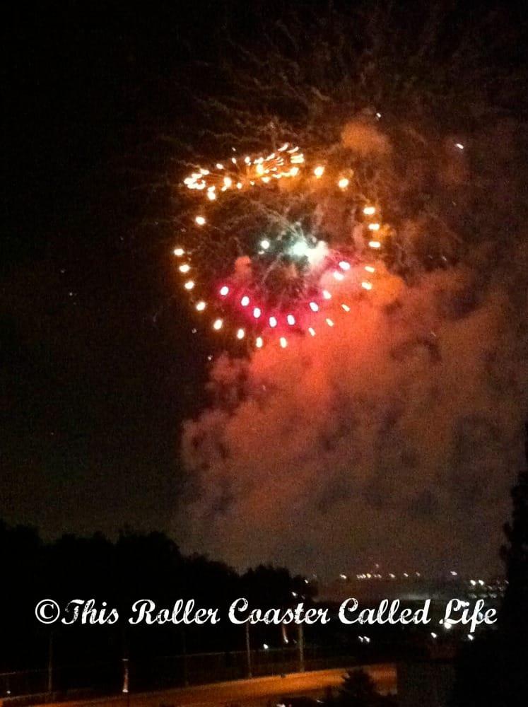 Disneyland Fireworks 3