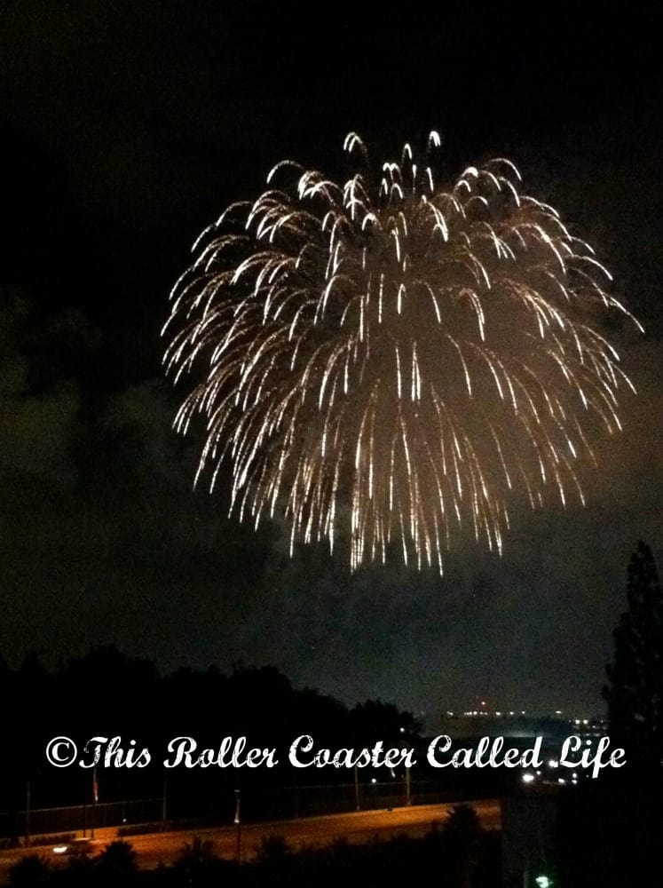 Disneyland Fireworks 4