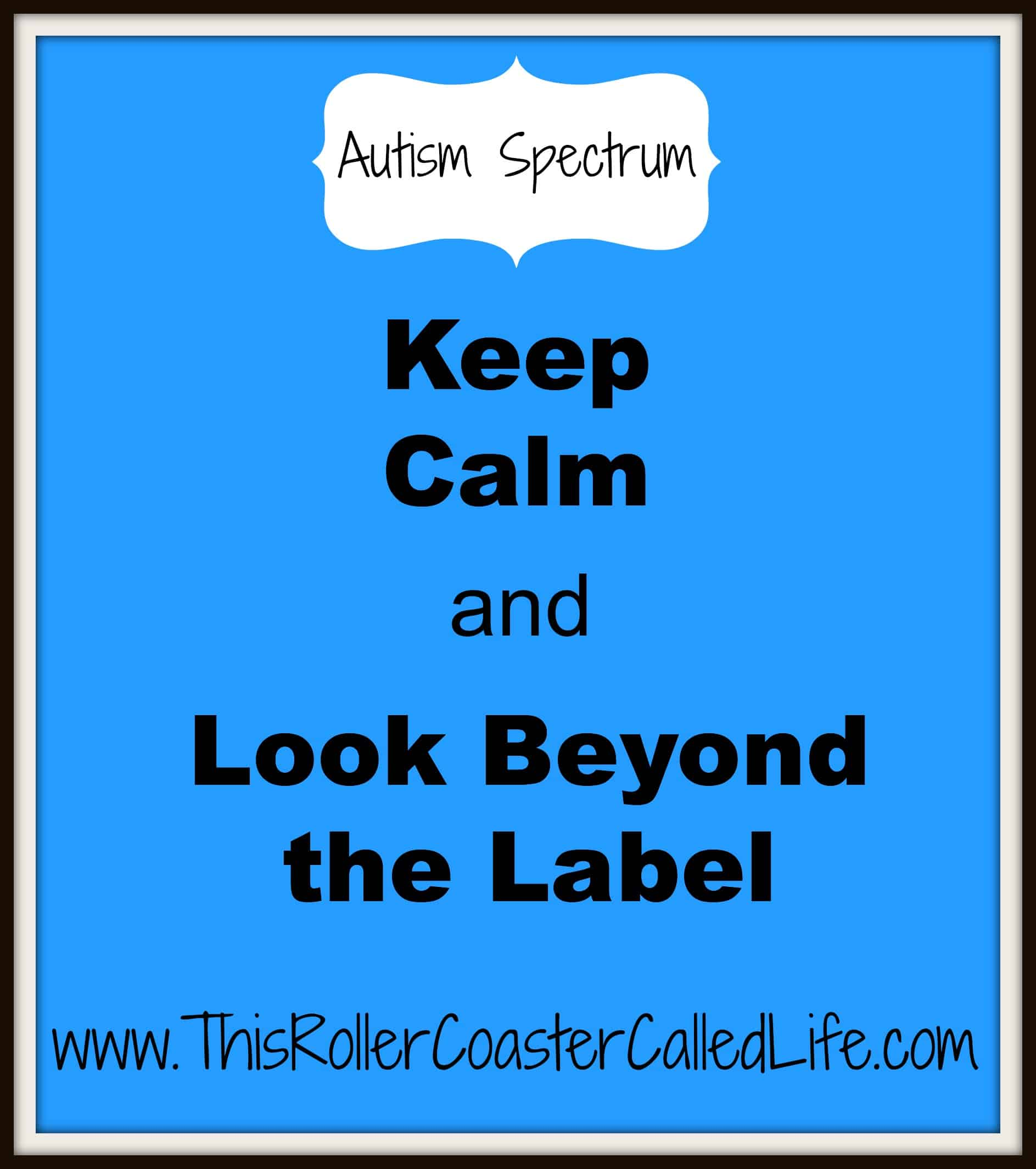Keep Calm and Look Beyond the Label