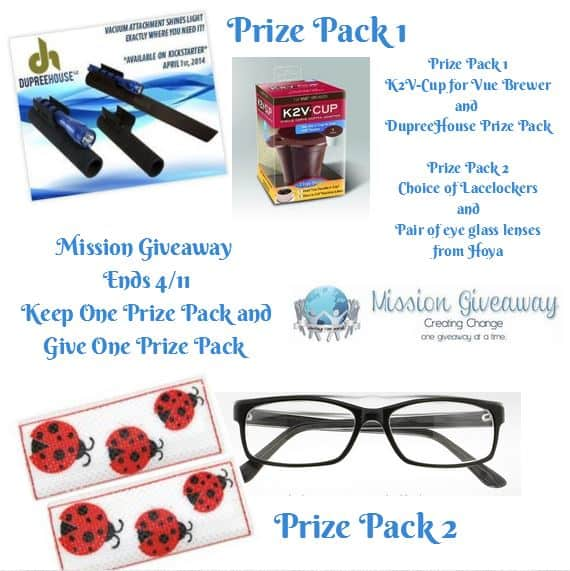 Large Giveaway with #MissionGiveaway