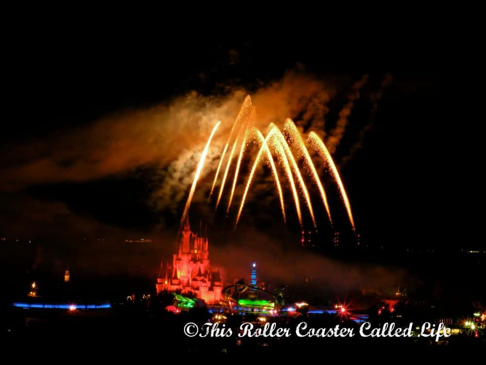Walt Disney World Fireworks 2
