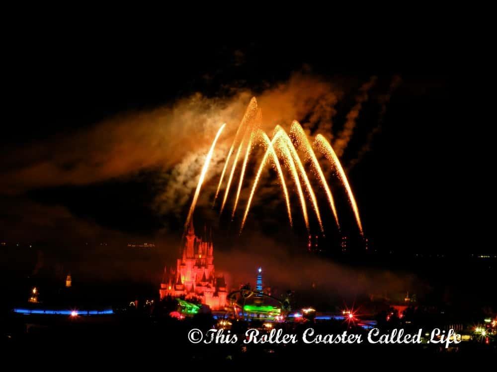 Walt Disney World Fireworks 2