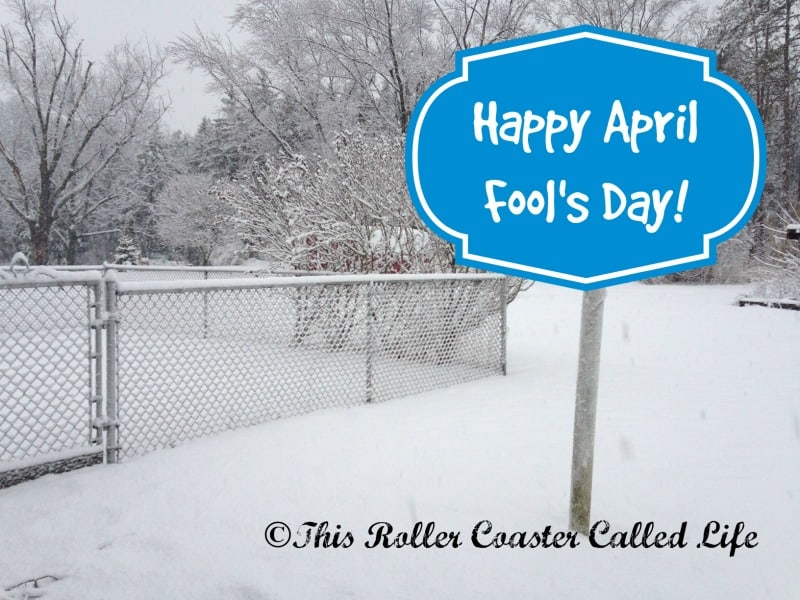 April Fool's Day, or Is It?