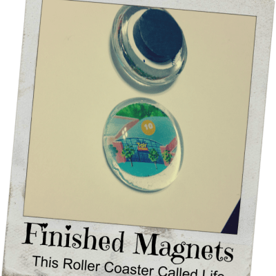 Make Your Own Disney Map Magnets