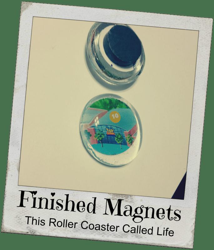 Finished magnet