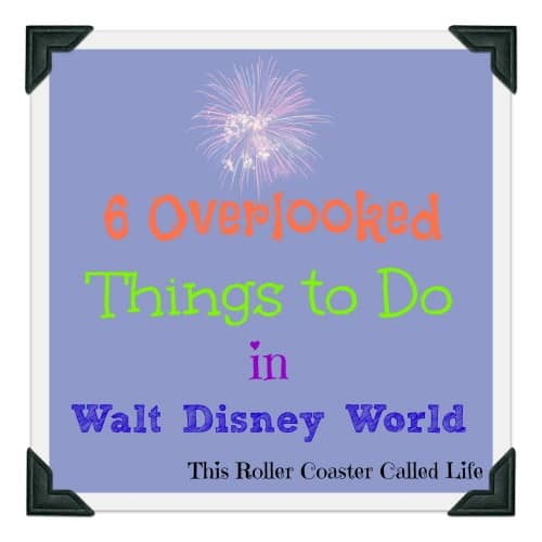 6 Overlooked Things to Do in Walt Disney World