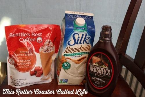Chocolate Caramel Frozen Coffee – #FreezeTheDay