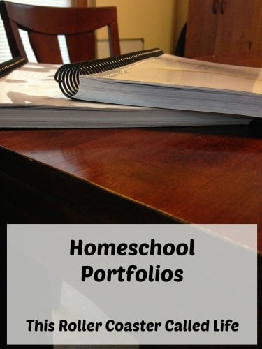 Homeschool Portfolio Update
