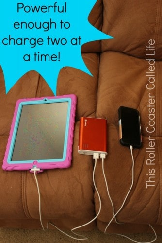 Jackery Charging 2 Devices