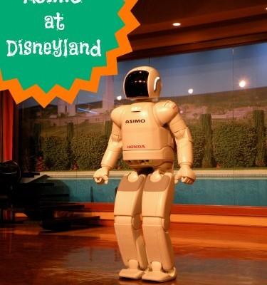 ASIMO at Disneyland
