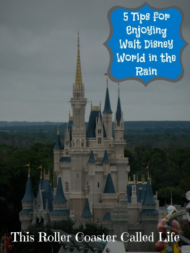 5 Tips for Enjoying Walt Disney World in the Rain #WDW #WaltDisneyWorld