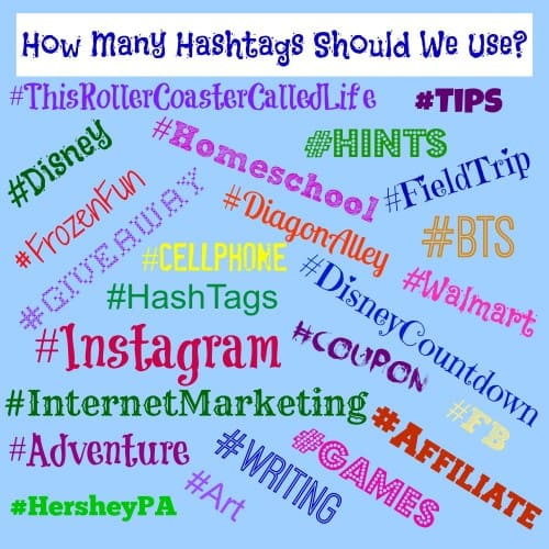 How Many Hashtags Should We Use?
