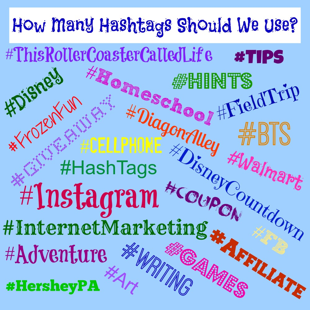 How Many Hashtags Should We Use This Roller Coaster