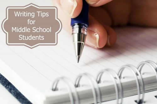 Writing Tips for Middle School Students
