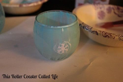 Frozen-Themed Tealight Holders
