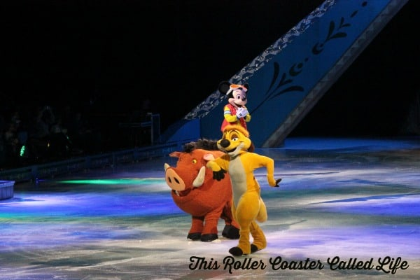 Disney On Ice Timon and Pumbaa