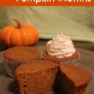 Disneyland Pumpkin Muffins