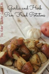 Garlic and Herb Potatoes