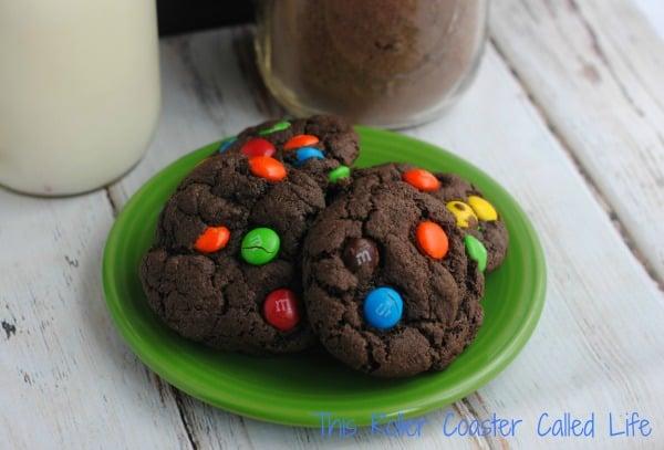 M&M Cookies Gift in a Jar