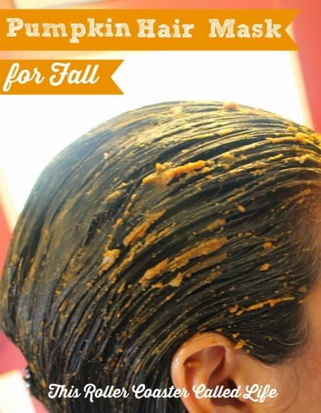 Pumpkin Hair Mask for Fall