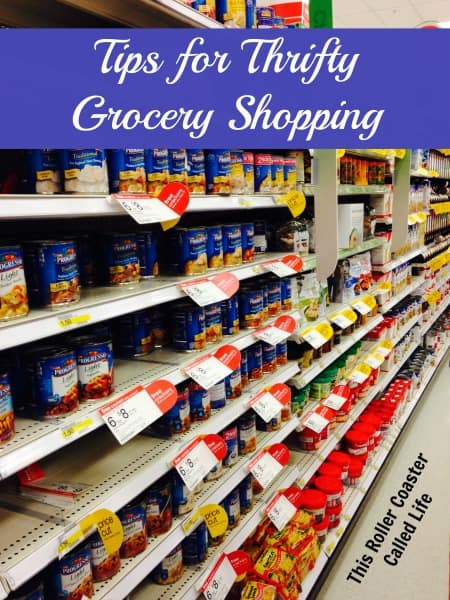 Tips for Thrifty Grocery Shopping