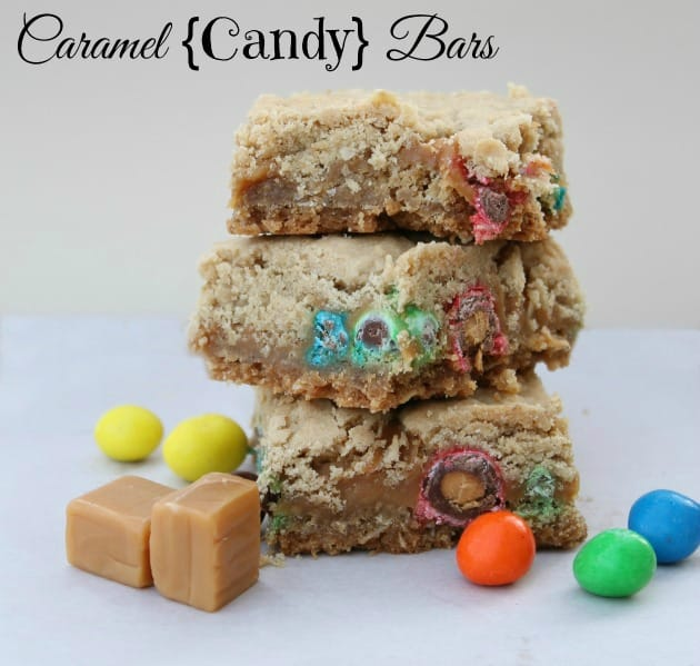 Caramel Candy Bars