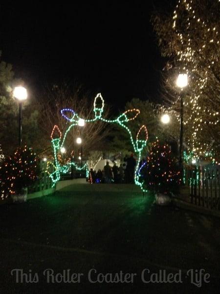 Christmas Light Arch