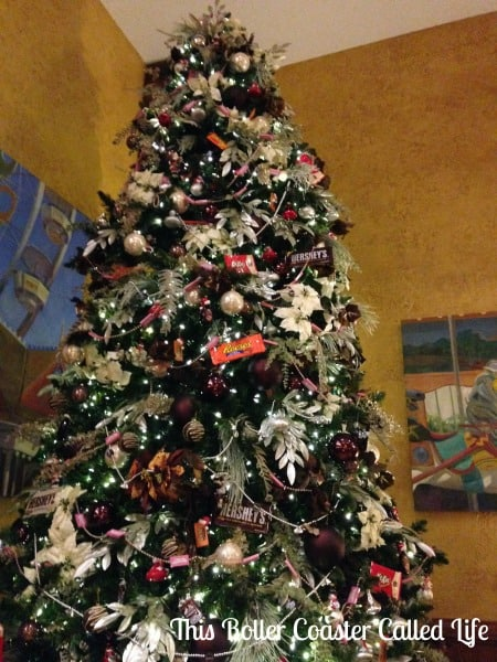 Christmas Tree at Hershey Lodge