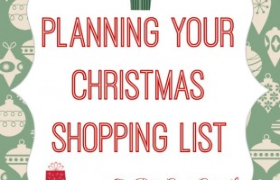 Planning Your Christmas Shopping List