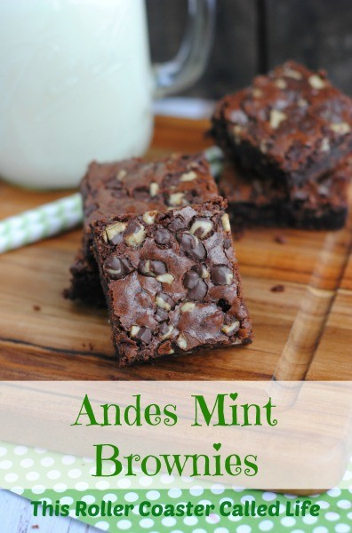 Andes Mint Brownies This Roller Coaster Called Life