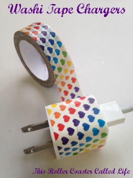 Heart Washi Tape Charger