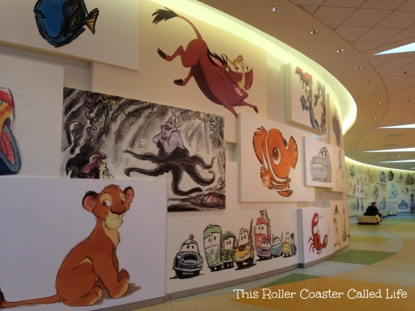 Lobby Disney Art of Animation Resort