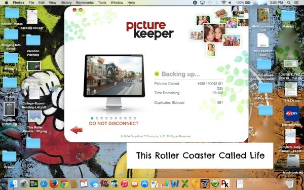 Picture Keeper Backing Up