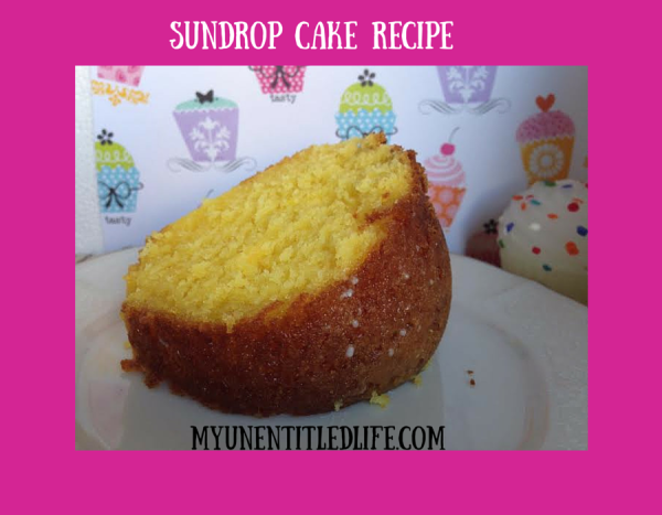 Sundrop Cake Recipe