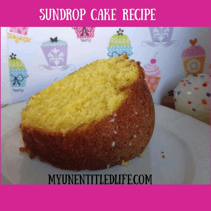 Sundrop Cake